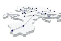 Red de comunicacin en Europa